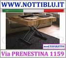 Tavolino Trasformabile Noce Nodato A24 _ NOTTI BLU