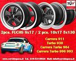4 cerchi 8x17+10x17 Porsche 911 Carrera RS Fuchs