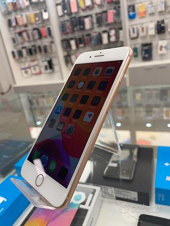 Iphone 8 plus 64gb oro usato garanzia 12 mesi