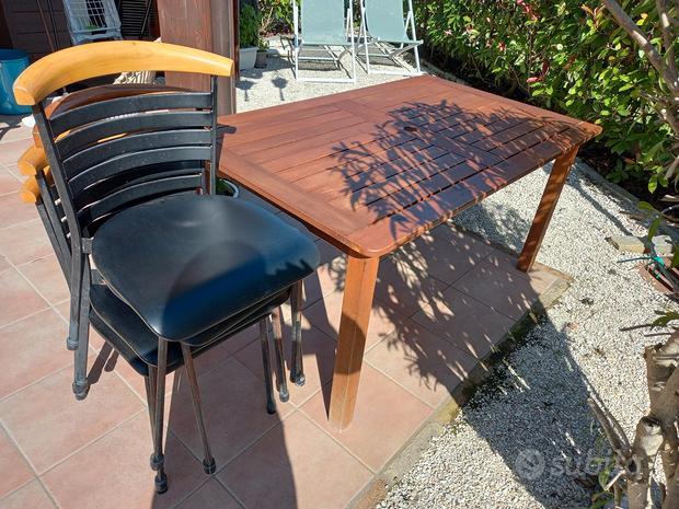 Tavolo in legno da 6