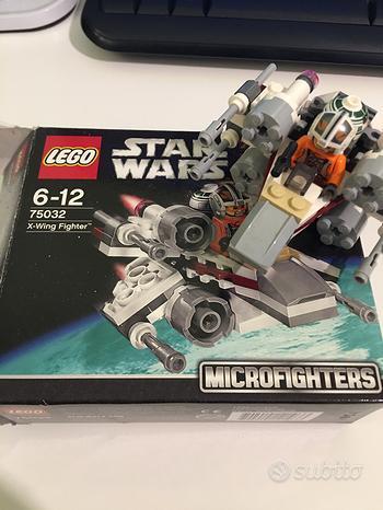 Lego Star Wars Microfighter + Lego Brickheads