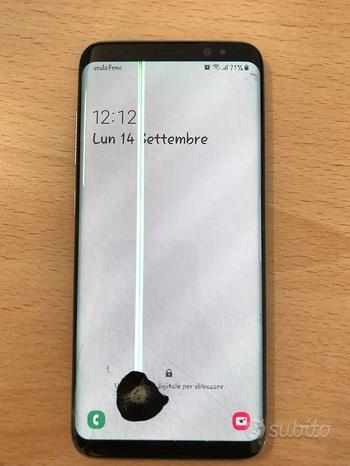 Samsung Galaxy S8 - LCD da sostituire