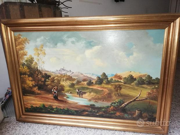Quadro 130 x 90 cm con Cornice, Affffare