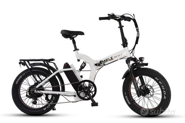 Bicicletta Fat Elettrica Pieghevole Miele Fat 48v