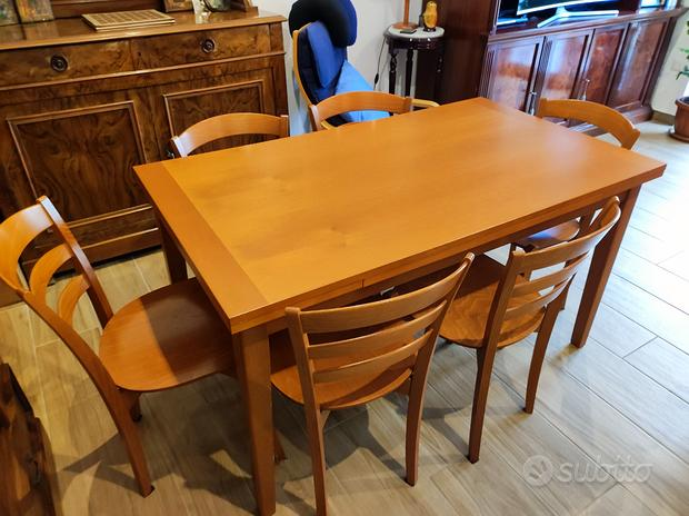 Tavolo estendibile Calligaris + 6 sedie