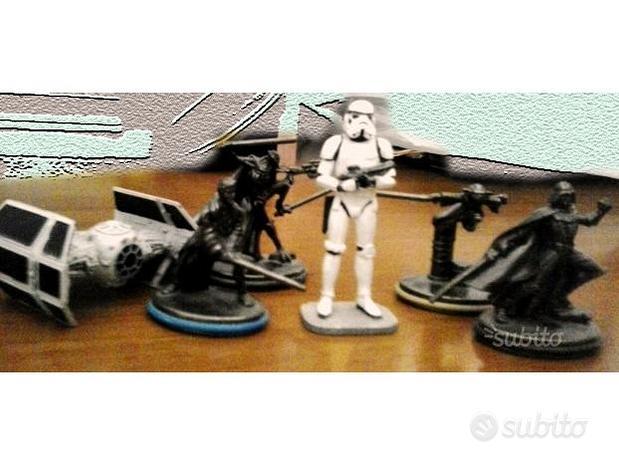 Star Wars modellini 3D in metallo