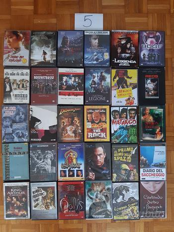 DVD usati film vari serie TV cofanetti lotto L-P