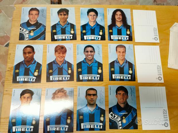 Cartoline originali anni 90 Inter