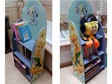Libreria 3 Mensole - Porta Giocattoli Disney