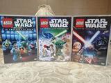 Lego Star Wars e The Clone Wars dvd originali