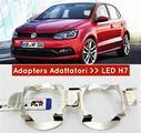 ADATTATORI per VW POLO 14-17 montaggio KIT LED H7