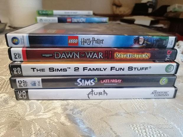 Videogioco The Sims vari giochi per PC ligiochibri
