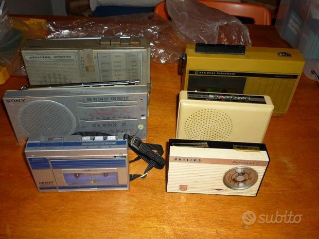 Radio portatili vintage