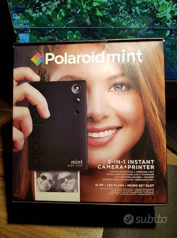 POLAROID MINT - SHOOT + PRINT Fotocamera digitale