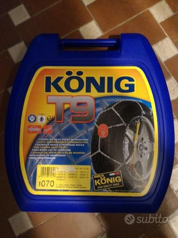 Catene da neve Konig T9 070