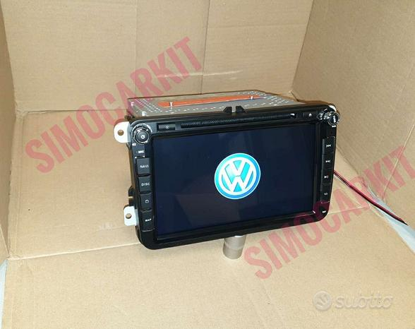 Autoradio Rns510 Navigatore Android 10 X VW Skoda