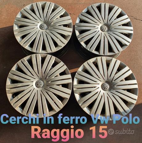 Cerchi in ferro usati Volkswagen Polo raggio 15