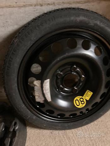 Ruota ruotino scorta Opel astra