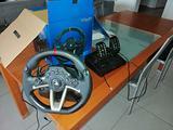 Volante con pedaliera hori rwa per ps4/ps3/pc