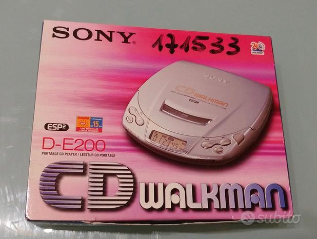 Sony Walkman CD D-E200