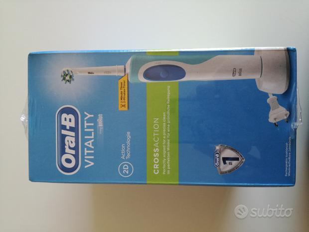 Spazzolino elettrico oral-b vitality nuovo