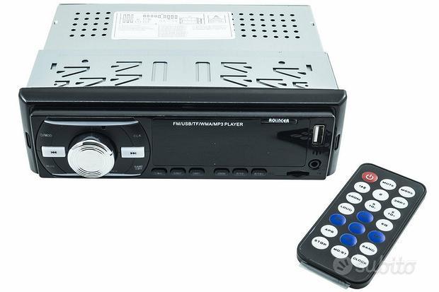 Autoradio fm stereo auto lettore mp3 usb sd aux