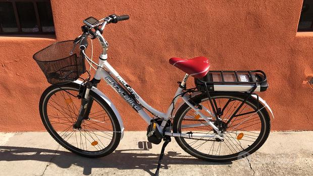 Trasformazione elettrica per city bike donna