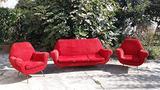 Set 2 poltrone e divano Gigi Radice per Minotti
