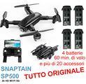 Drone SNAPTAIN SP500 GPS 5G 4 batterie =60 minuti