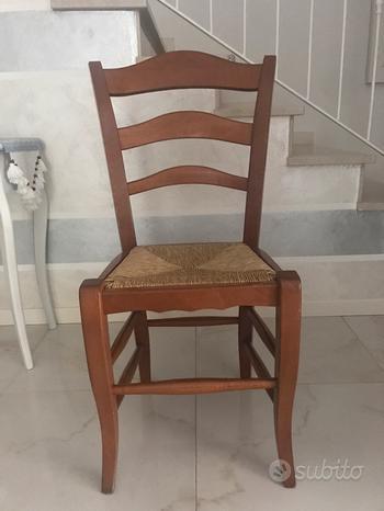 Sedie in legno di rovere