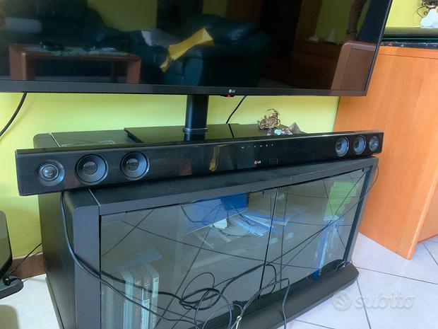 LG Sound Bar 300W sub-woofer wireless Dolby DTS