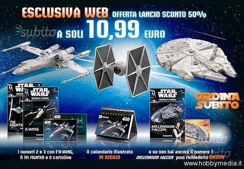 Star Wars Navicelle e Veicoli Deagostini