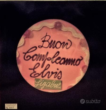 """Ligabue """"Buon compleanno Elvis"""" Vinile 1995"""