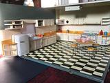 Grande cucina per bambole anni '50
