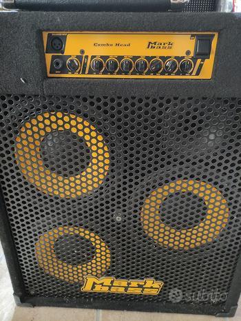 Amplificatore per basso Mark Bass combo head