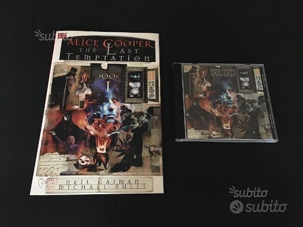 Alice Cooper The Last Temptation CD+Fumetto