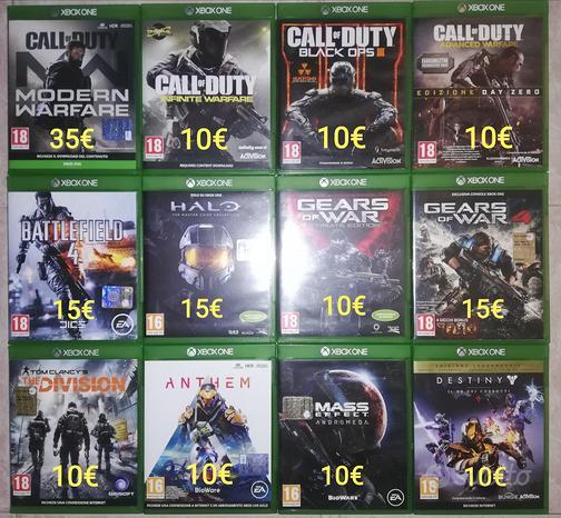 Giochi Xbox one - base console