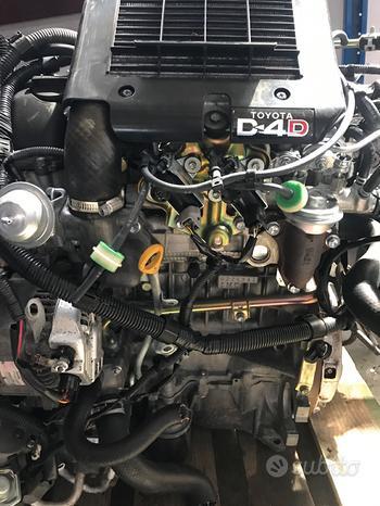 Motore Yaris 1.4 d4d