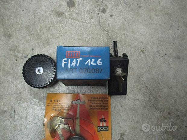 Maniglie esterne e tappi serb. FIAT 500/600/126