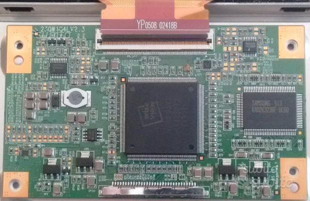 230W1C4LV2.0 (T-Con) da TV Samsung LE23R51BX-RE23E