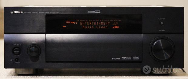 Yamaha RX-V1700 140watt x 7 HDMI nero