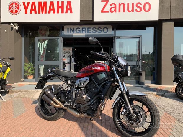 Yamaha XSR 700 akrapovic 2018