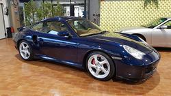 996 911 Porsche Turbo Book service Blue Lapis