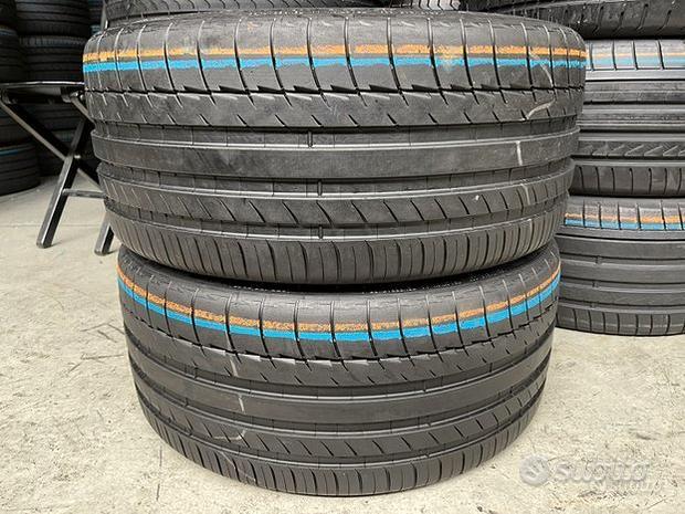 2 Gomme 235/35 R19 - 91Y Michelin est.90% res.2019
