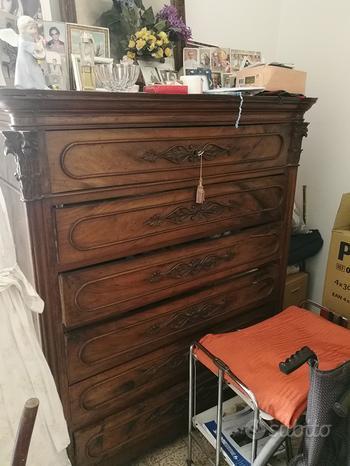 Antica cassettiera del 1800