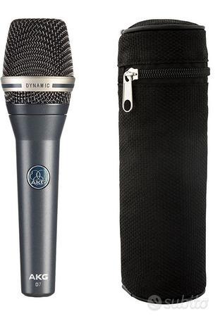 Microfono canto akg d7