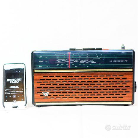Cassa bluetooth speaker indesit cr02 r15 anni 70 p