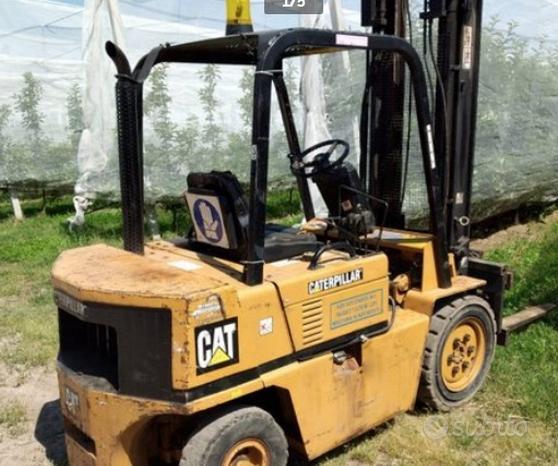 CAT Muletto caterpillar modello V 50 alzata 30