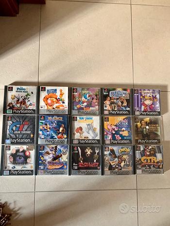Giochi vari PlayStation 1