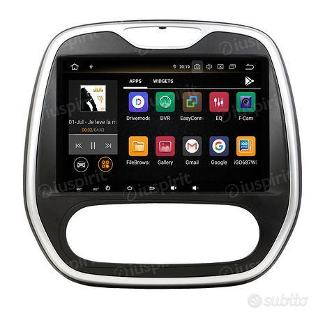 Android autoradio navigatore Renault Captur Clio